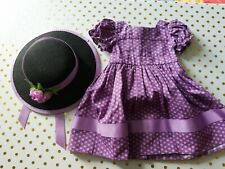 American Girl Addy's Sunday Best Outfit Dress & Hat