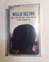 WILLIE NELSON Super Hits Volume 2 CT67295 Cassette Tape