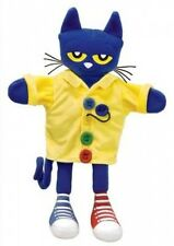 """Pete the Cat and His Four Groovy Buttons 14.5"""" Puppet by Sherry Duskey Rinker."""