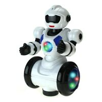 360 Rotating Electric Universal Dancing Intelligent Robot Toy Gift Light Music