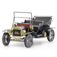 Fascinations Metal Earth 3D Metal Model Kit - 1908 Ford Model T, Dark Green