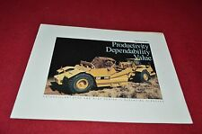 Caterpillar 613C 615C Scraper Pan Dealer Brochure YABE13