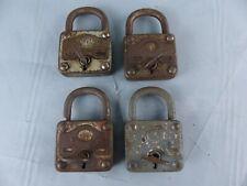Lot de 4 anciens cadenas MOLA avec clés , tous fonctionnent