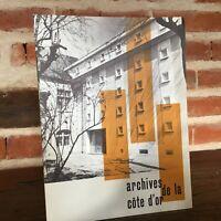 Hotel Las Archivos de La Côte D'Or Y Antigua Provincia De Borgoña 1963