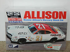 MPC Donnie Allison's 1970-71 Mercury Cyclone NASCAR Stock Car Model Kit