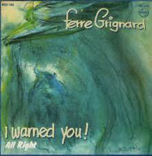 Ferre Grignard - I warned You (1978) 180G Vinyl Includes Lyrics Insert NEW