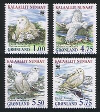 Mint Never Hinged/MNH Birds Greenlandic Stamps