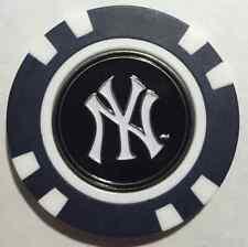 MLB New York Yankees Yankee Magnetic Poker Chip removable Golf Ball Marker