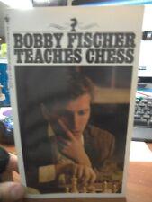 Bobby Fischer Teaches Chess Don Mosenfelder, Stuart Margulies 1982 Paperback