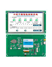 7 Flexible Small Hmi Tft Lcd Stone Touch Panel With Rs232usb Interface