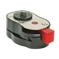 Professional 1/4inch Mini Quick Release Plate System for any Tripod, ArticuV6H6