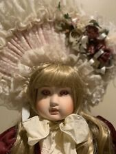 Pat Loveless Antique Reproduction Steiner Doll Olivia with Original Box and Coa
