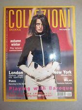 Magazine mode fashion COLLEZIONI DONNA #59 pret à porter autumn winter