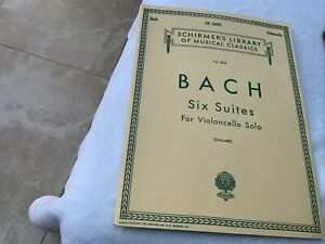 johann sebastian bach Six Suites For Violoncello Solo