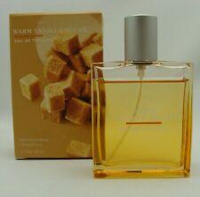 Bath & Body Works WARM VANILLA SUGAR 1.7 oz. Used EDT Perfume Mist Spray
