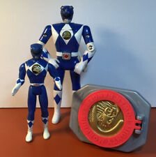 Vintage Power Rangers Action Figure Toy Lot Blue Billy Bandai Quick Change Clip