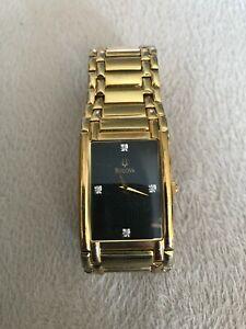Bulova C960631 Gold Toned Wrist Watch
