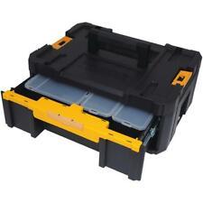 Dewalt Small Parts Tool Storage Organizer Stackable 6-Compartment Deep Drawer