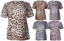 Animal Print Hand-wash Only Plus Size Tops for Women