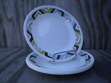 Corelle Dishes Vitrelle Squared Small Bread & Butter Or Dessert Plates Set Of 4