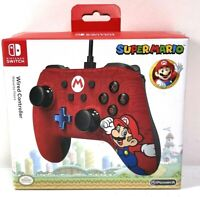 PowerA 1506261-01 Wired Mario Controller for Nintendo Switch - Red