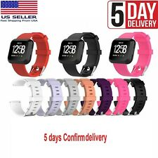 New Replacement Band for Fitbit Versa/Lite Silicone Strap Wristband S L Size Usa