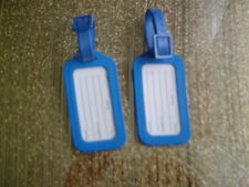 LUGGAGE TAGS PACK OF 2 COLOUR BLUE