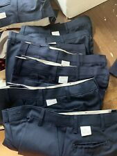 3 pair New Red Kap WORK UNIFORM PANTS NAVY BLUE Mechanic Auto Plumber PT10 20