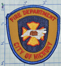 "NORTH CAROLINA, HICKORY FIRE DEPT SMALL 3"" PATCH"