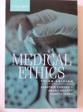 Medical Ethics, Third Edition, Campbell, Gillett, Jones (PB 2001) Oxford Uni Pr