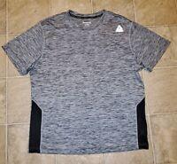 Reebok Crossfit sz L Men's Athletic Training Shirt Gray H4