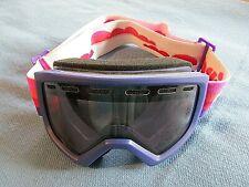 Girls GIRO Pink & Purple Ski Goggles MINT