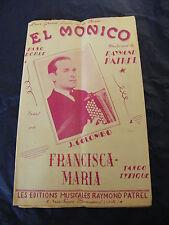 Partition El Monico Raymond Patrel J Colombo Francisca Maria Music Sheet