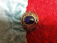 1 10K GOLD MEN'S RING 9.7 GRAMS US AIR FORCE ( EXCELLENT CONDITION)