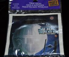8 Star Wars Ship Vintage 1997 Treat Sacks Birthday Party Loot Bags Hallmark NIP