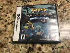 Pokemon Mystery Dungeon Blue Rescue Team Nintendo DS w/Case (No Manual)
