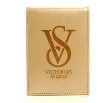 Fashion Gold Victoria's Secret Make Up Fold Travel Stand Handheld Mirrors