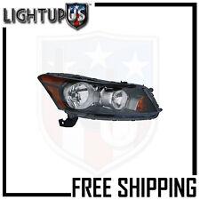 Headlights Headlamps Right Only for 08-12 Honda Accord Sedan