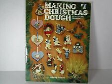 """Making Christmas Dough"" 23 Dough Art Ornaments holiday Santa kitten bear craft"