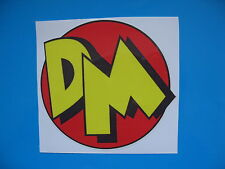 DANGER MOUSE Retro Funny Ratlook hoodride car sticker Bombing Decal JDM VW etc