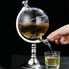 Whiskey Decanter Globe World Decanters Liquor Scotch Wine Spirits Rum Glasses