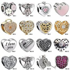 925 sterling authentic silver charm bead For European charms bracelet chain UK A