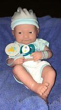 Smiling Berenguer La Newborn Realistic Baby Boy Doll Set. Life Like Real