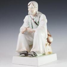 Zsolnay Woodcarver Porcelain Figurine Lot 456