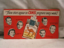 1940'S-50'S UNUSED CAMEL CIGARETTES INK BLOTTER