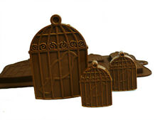 6+1 Bird Cage Vintage Chocolate Candy Silicone Bakeware Mould Cake Baking Wax