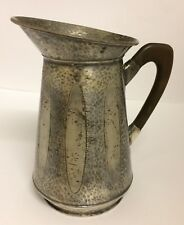 Arts and Crafts hammered pewter jug, liberty style , Archibald Knox Style