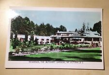 Canada BC Victoria Residence The Butchart Gardens 1955 Robert's Creek to Ladner
