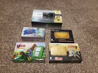 New Nintendo 3DS XL Zelda Limited Edition Lot All Brand New Sealed MINT READ