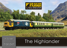 Graham Farish 370-048 The Highlander Digital DCC Train Set N Gauge